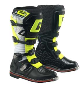Dettagli su Stivale Moto Cross Enduro Gaerne GX 1 Colore Nero Giallo Fluo N 41