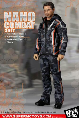 SUPER MCToys 1//6 F-080 Nano Combat Jacket Suit Set For Tony Stark /<IN STOCK/>