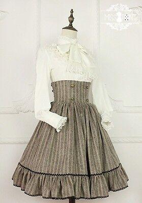 Cosplay Gothic Vintage Lolita Fantasy Fairy Tale Victoria High Waist Skirt
