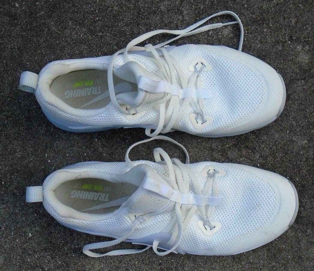 Hombres Zapatillas Nike Zoom zapatillas de de zapatillas entrenamiento blanco talla 10 1 / 2 e3d2fc
