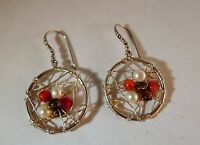 Bali Couture Sterling Silver Bali Dream Catcher Earrings