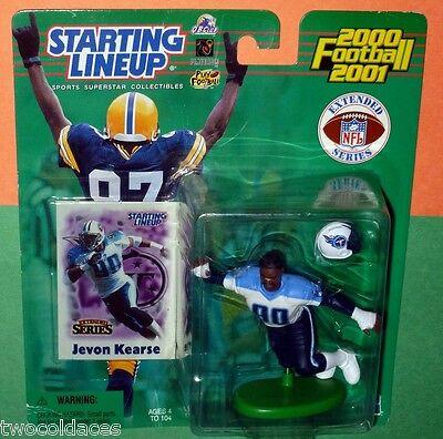 SLU 2000 JEVON KEARSE Starting Lineup Sports Figurine Tennessee Titans