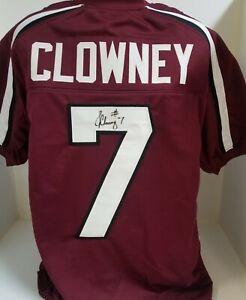 Details about JADEVEON CLOWNEY signed University of SOUTH CAROLINA Jersey USC auto SEAHAWKS