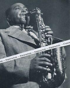 Charlie Parker - Jazzmusiker - um 1950 (?)      O 16-14