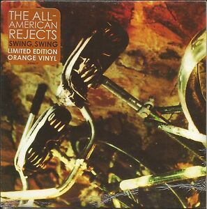 ALL-AMERICAN-REJECTS-Swing-w-Too-Far-DEMO-LIMITED-ORANGE-UK-7-inch-vinyl-SEALED