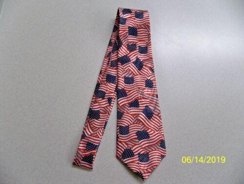 U.S Flag Red Patriotic U.S.A White Old Glory men/'s necktie NEW #1 Blue