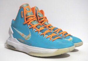 9f9df880e02f Nike Zoom KD V Easter Turquoise Blue Bright Citrus Mens Shoes 554988 ...