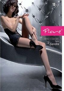 Classic-Tights-By-Fiore-034-Sandra-034-Sheer-Tights-15-Denier