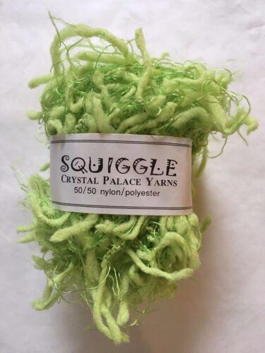 Pippin Green Crystal Palace Yarns Squiggle #4705 Great CarryAlong!