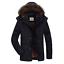 Men-039-s-Warm-Down-Cotton-Jacket-Fur-Collar-Thick-Winter-Hooded-Coat-Parka-Outwear thumbnail 1