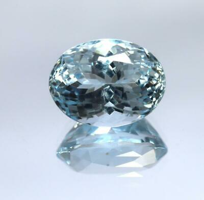 18.10 Ct March Birthstone Handmade Natural Aquamarine Carving AAA Natural Gemstone 100 /% Natural Aquamarine Carving Stone
