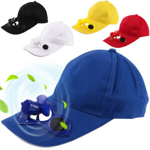 Unique-Unisex-Outdoor-Sports-Baseball-Caps-Hats-with-Solar-Power-Cooling-Fan-Pre