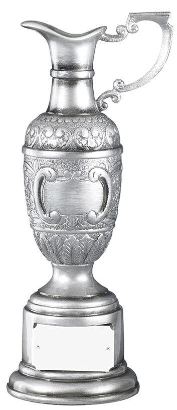 Étain argent résine Golf Claret Carafe trophée, trophée, trophée, Award, Gravure Gratuite (RG12) GDT ff8a30