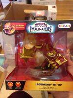 Skylanders Imaginators Legendary Tri-tip Sensei Earth Element Smasher Toysrus