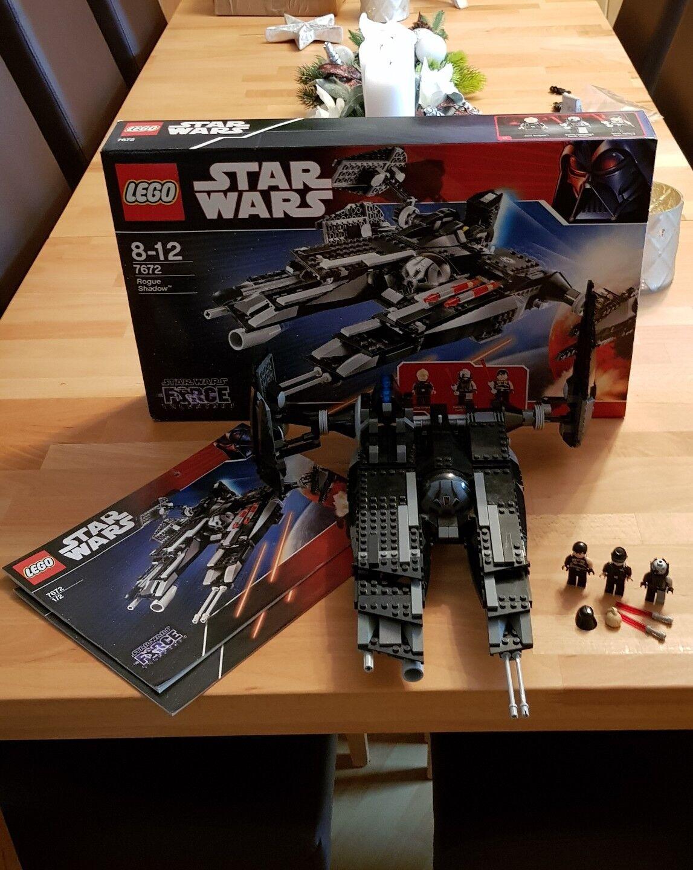 LEGO STAR WARS 7672 ROGUE SHADOW MIT ALLEN FIGUREN UND OVP+OBA 100%  KOMPLETT    Online Shop Europe