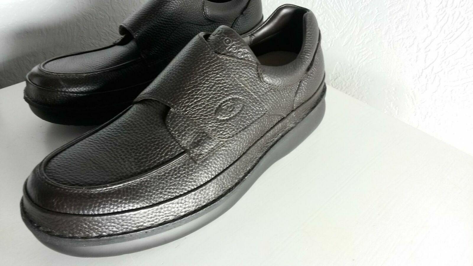 Propet Brown M5015 Scandia Strap Diabetic Men's  Leather shoes Sz US 13 M ()