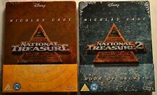 """National Treasure 1+2"" 2xBluray Steelbook, neu&ovp, geprägt, Nicolas Cage"