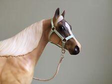 Traditional Scale Mint Green Model Horse Halter For Breyer
