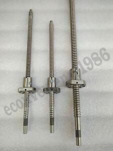 Anti-backlash-RM2505-600-650-800mm-ballscrew-with-Machine-End