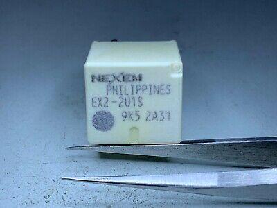MFR= NEC// Tokin 12VDC SPDT 5pcs- EX2-2U1S 30A Momentary Automotive Relays