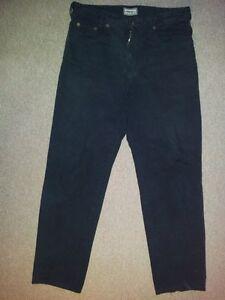 Jeans Unicolore Pantalon Couleurs Noir Joker W33 L32 vdRAqvw1H