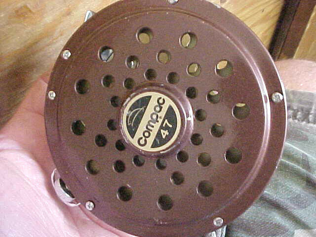 C3  RARE vintage compac 47 made in Japan fly fishing fish reel EXCELLENT conditio  with 60% off discount