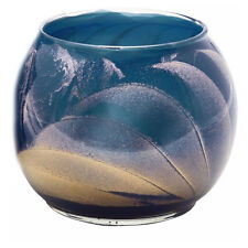 Northern Lights Esque Midnight Blue 4 Inch Globe Candle Mysteria Scented Wax