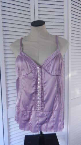 Marc Jacobs women's lavender sleeveless silk blous