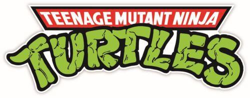 SIZES * Teenage Mutant Ninja Turtles Dibujos Animados Pegatina de Vinilo Calcomanía Pared