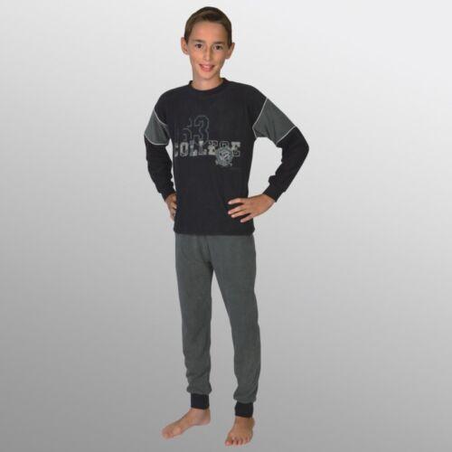 Frottee verschiedene Modelle Gr Wörner Jungen langer Schlafanzug 2tlg 116-176