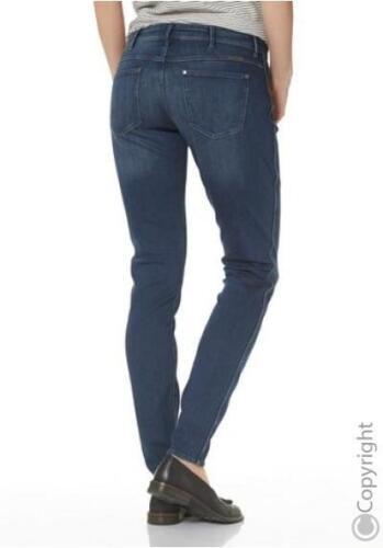 WRANGLER Corynn Jeans Skinny Fit Nuovo Donna Tubo Pantaloni Denim Stretch Blu l30