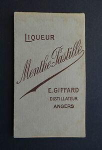 Calendrier 1951.Details Sur Ancien Carnet Bistrot Menthe Pastille Giffard Angers Calendrier 1951