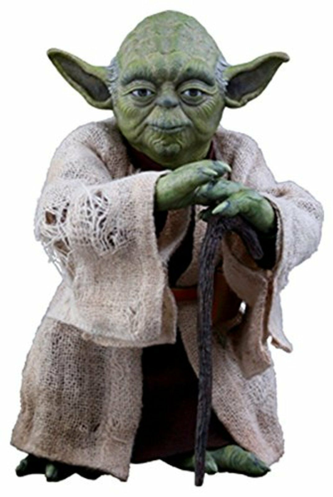 Hot Toys Película Obra Maestra Yoda Star Wars The Empire Strikes Back