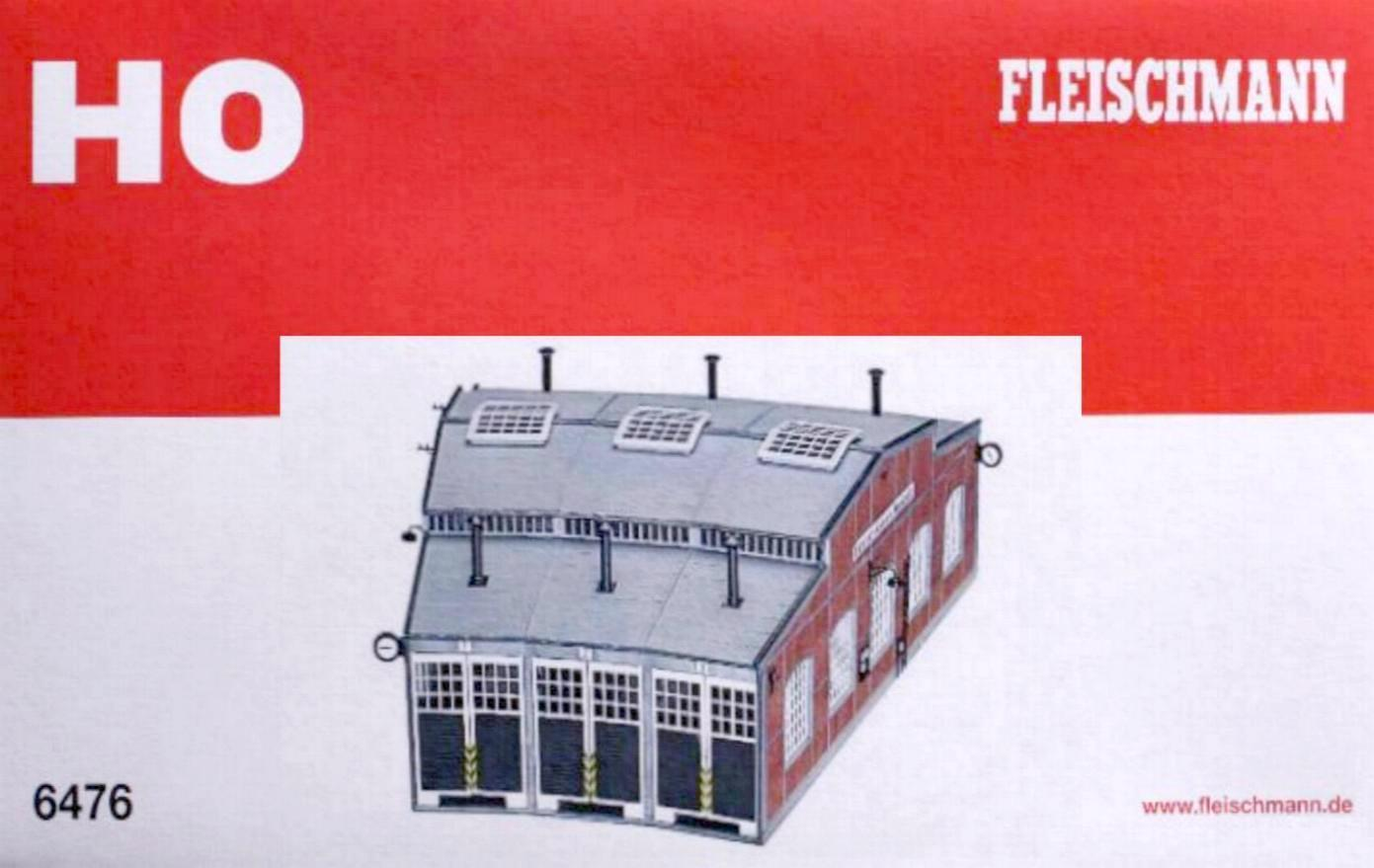 Fleischmann Fleischmann Fleischmann 6476 H0 - Ringlokschuppen NEU & OvP  | Sonderaktionen zum Jahresende  205d36