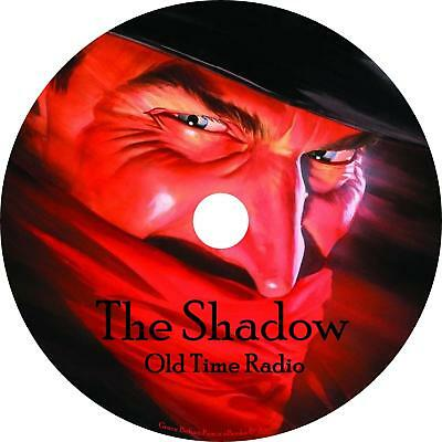 The Shadow Old Time Radio Shows OTR 253 Episodes on 1 MP3 DVD Free Shipping  | eBay