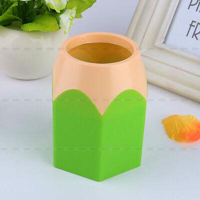 Hot Cute Makeup Brush Holder Pen Vase Pencil Pot Tidy Stationery Desk Container