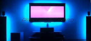 Details About Led Lighting Mood Color Accent Tv Television Ambilight Home Theatre Lights Kit