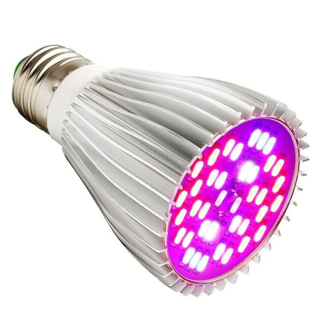 E27 30W LED Plant Grow Light Lamp Full Spectrum For Hydroponic Indoor Plant Veg