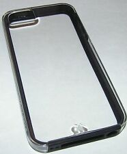 Case Mate naked tough transparent clear case for iPhone 5/5s/SE, Metal Buttons