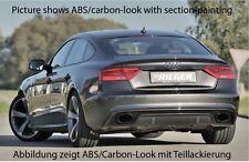 Rieger Heckeinsatz Carbon-Look für Audi A5 B8 Sportback Facelift S-Line/ S5