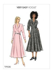 Very Easy Vogue SEWING PATTERN V9326 Misses   Petite Dress 6-14 Or ... dfc16ba002f3