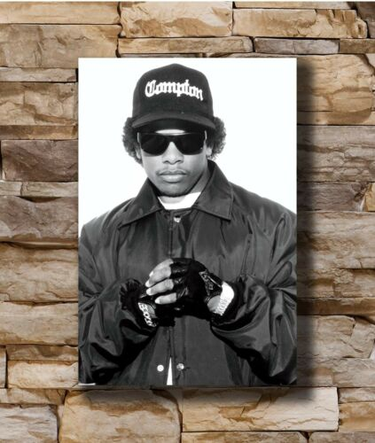 Hot Eazy E NWA Rapper Singer Star New Art Poster 40 12x18 24x36 T-4415