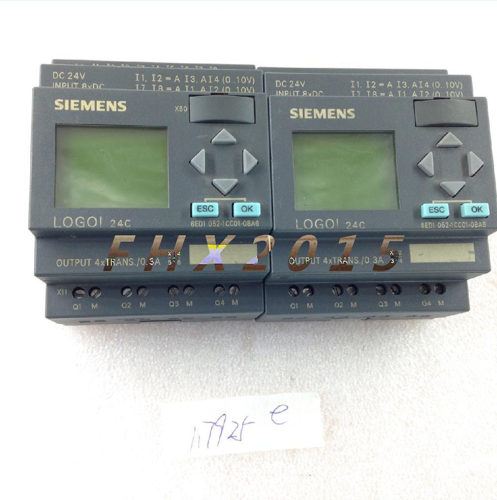 Siemens LOGO 24C 6ED1 052-1CC01-0BA6 6ED1052-1CC01-0BA6