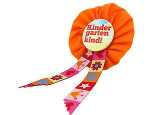 Orden-KINDERGARTENKIND-Kita-Tagesmutter-Anstecker-Button-Geschenk-Prinzessin