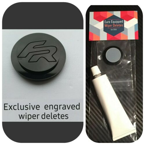 Fr Engraved Wiper Delete KIT Bung Dewiper Blank Acrylic Seat Ibiza mk3 mk4 mk5
