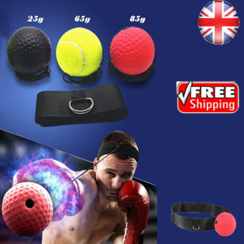 Boxing Rubber Punch Exercise Fight Ball With Head Band For Reflex Speed Training