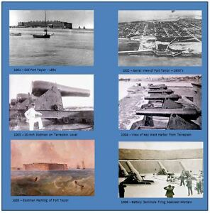 Postcards-of-Historic-Photos-of-Fort-Zachary-Taylor