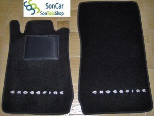 Chrysler Crossfire Teppich-Fußmatten 2 Schmuck