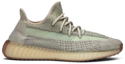 Adidas Yeezy Boost 350 V2 Gray Sneakers Size Men's 6.5 FW5318 NEW NIB