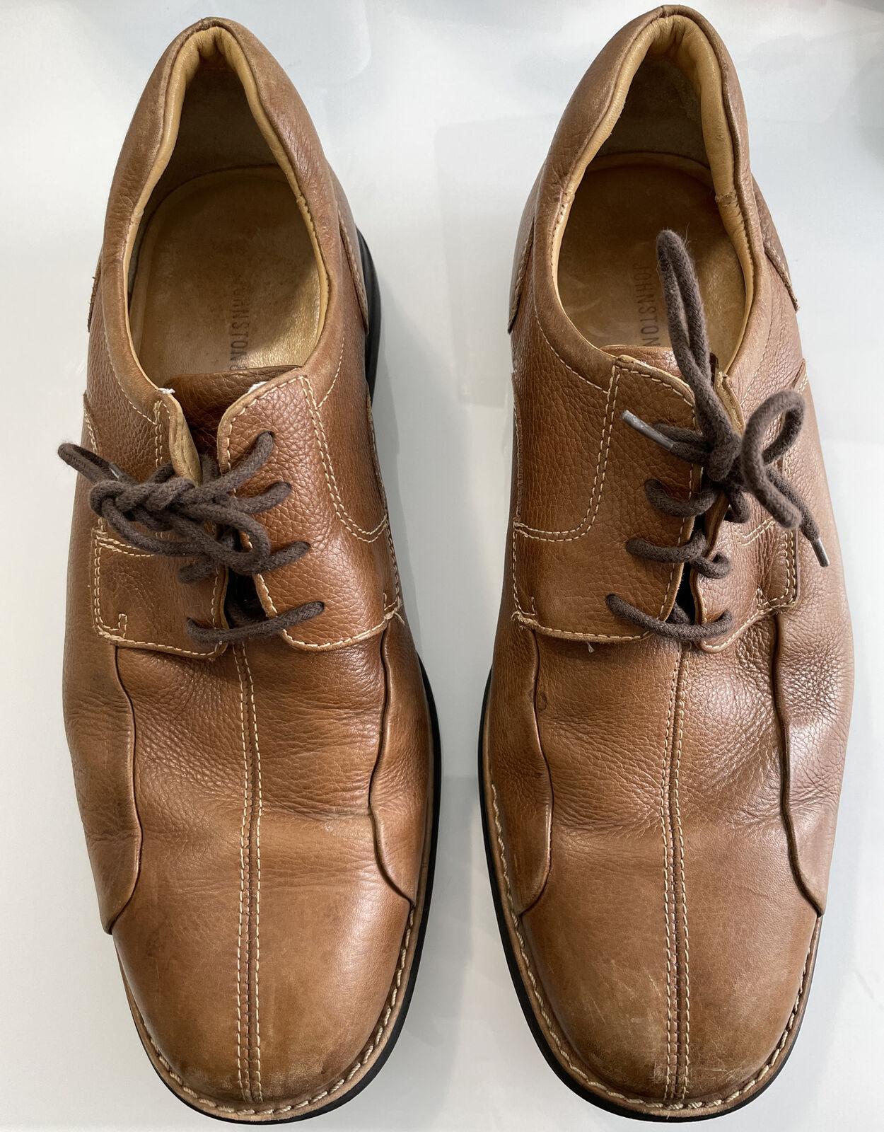 Johnston & Murphy Oxford Dress Shoes Leather Lace Up Comfort Shoe Men's Size 11